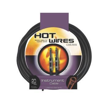 Instrument Cable, Standard (QTR-QTR, 15') (HO-IC-15)