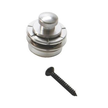 Solid Brass Strap Lock - Chrome (HE-NSL7200C)