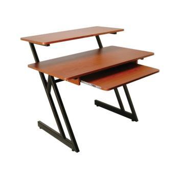 WS7500 Series Wood Workstation (Rosewood/Black Steel) (OA-WS7500RB)