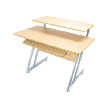 WS7500 Series Wood Workstation (Maple/Gray Steel) (OA-WS7500MG)