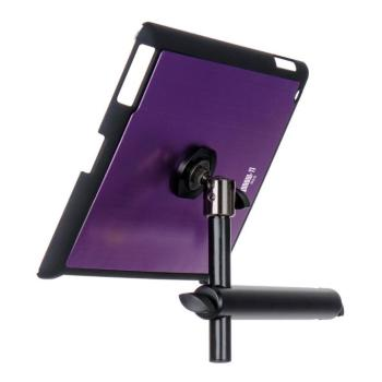 iPad® Snap-On™ Cover w/ Mounting Bar, Purple (OE-TCM9160P)