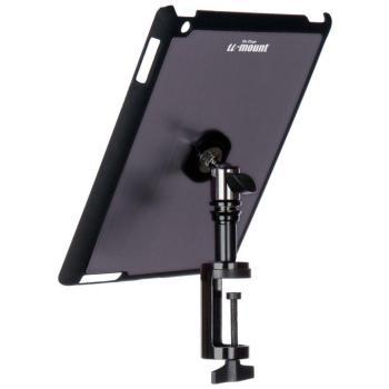 iPad® Snap-On™ Cover w/ Table Clamp, Gun Metal (OE-TCM9163GM)
