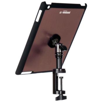 iPad® Snap-On™ Cover w/ Table Clamp, Mauve (OE-TCM9163M)