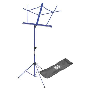 Compact Sheet Music Stand (Dark Blue, with Bag) (OA-SM7122DBB)