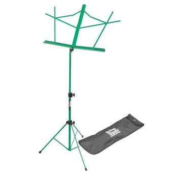 Compact Sheet Music Stand (Green, with Bag) (OA-SM7122GRB)