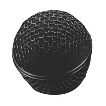 Steel Mesh Mic Grille (Black) (OA-SP-58B)