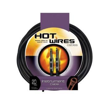 Instrument Cable, Heat-Shrink Relief  (QTR-QTR, 10') (HO-IC-10HS)