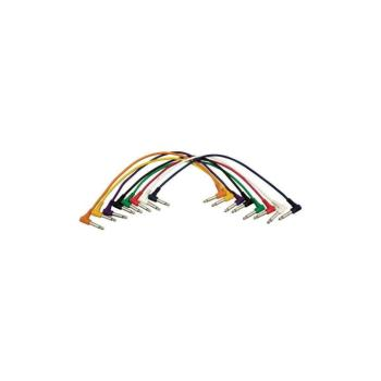 Right-Angle Patch Cables (QTR-QTR, 8-pack) (HO-PC18-17QTR-R)