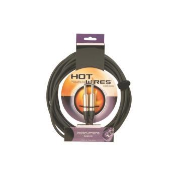 Instrument Cable, Neutrik Connectors  (QTR-QTR, 3') (HO-IC-3NN)