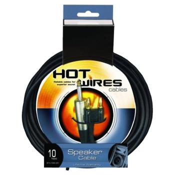 14AWG Speaker Cable (10', Banana-QTR) (HO-SP14-10BAQTR)